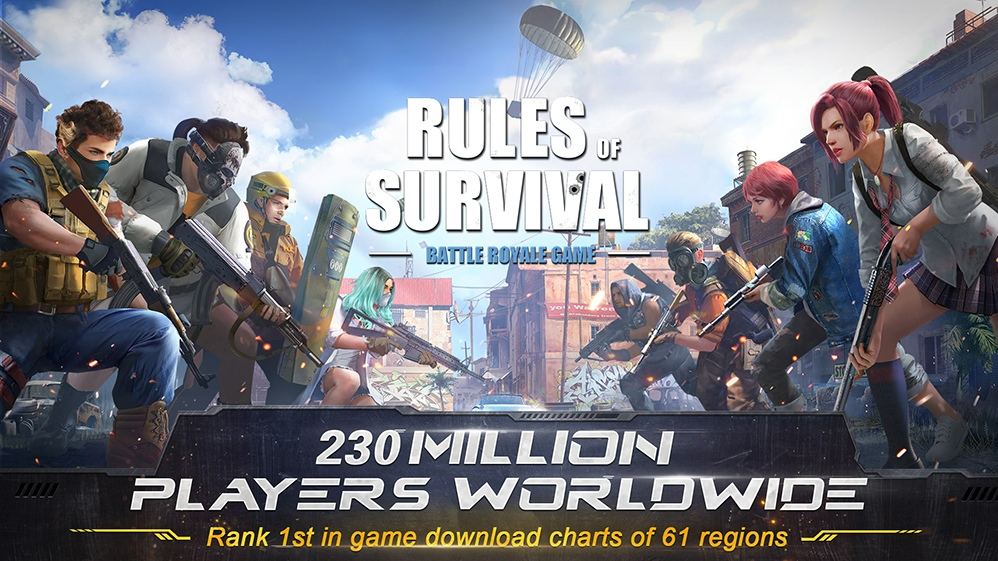 Rules of Survival: First 300-Player Battle Royale Game on Mobile